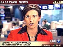 CNN presenter Becky Anderson