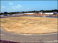 Tanzania's national stadium was banned by Caf