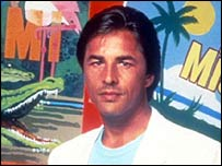 Don Johnson in Miami Vice