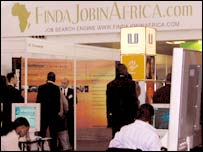 Find a Job in Africa's jobs fair