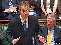 UK Prime Minister Tony Blair