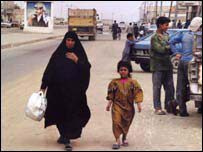 Iraqi mother and child