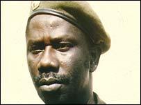 President Lansana Conte of Guinea