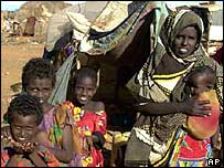Somali refugee camp
