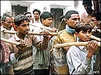 Diggers at Ayodhya
