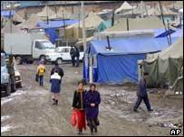 Chechen refugees