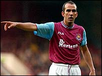 West Ham striker Paolo di Canio