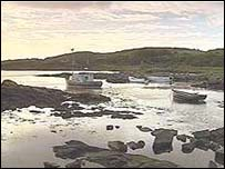 Boats on Gigha