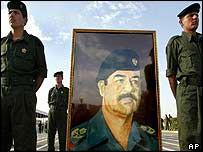 Picture of Saddam Hussein