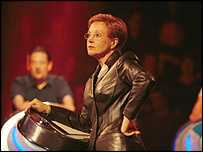 Anne Robinson chairing The Weakest Link