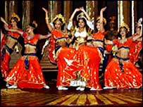 Bombay Dreams in rehearsal