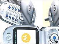 Phones on display at CeBIT