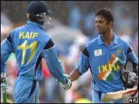 Mohammed Kaif and Rahul Dravid