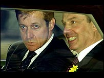 Alastair Campbell with Tony Blair