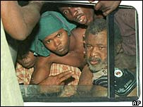 Foday Sankoh seized May, 2000