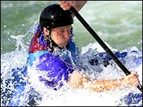 Paul Ratcliffe, champion canoeist