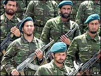 The rebuilding Afghan army