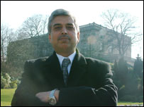 Ali Asghar at Nottingham Castle