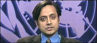 Shashi Tharoor, UN under-secretary general