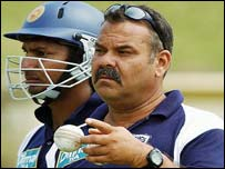 Sri Lanka coach Dav Whatmore