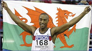 Colin Jackson makes his final bow at the World Indoor Championships