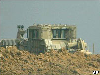 Israeli bulldozer