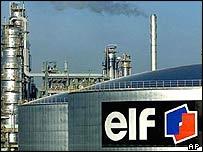 Elf refinery