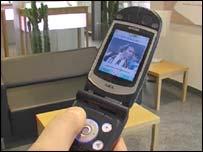 A 3G handset