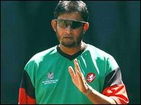 Kenyan coach Sandeep Patil