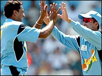 Mohammad Kaif (right) and Javagal Srinath have revelled in their respective captaincy roles