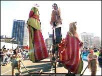 Dublin's parade
