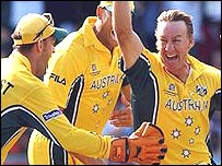 Australia are on course for back-to-back World Cup wins