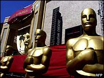 Statuettes outside the Kodak Theatre