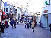 Holyhead town centre