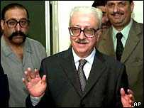 Tariq Aziz came to prominence in the world media after the invasion of Kuwait in 1990