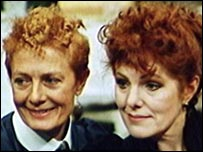 Vanessa Redgrave and Lynn Redgrave