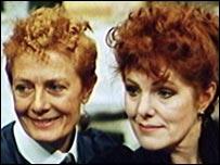 Vanessa Redgrave and Lynn Redgrave