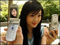 Samsung digital camera phones