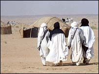 Residents of northern Niger
