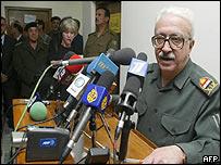 Iraqi Deputy Prime Minister Tariq Aziz