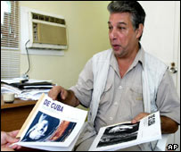 Cuban dissident Ricardo Gonzalez, believed to have been arrested