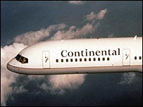 Continental Boeing 757