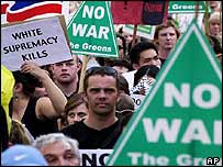 Anti-war protesters in Sydney