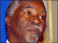 President Thabo Mbeki of South Africa