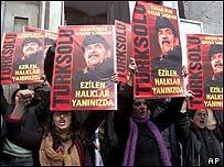 Anti-war demonstration in Istanbul