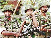 Bangladeshi soldiers