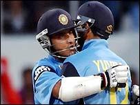 Sourav Ganguly and Yuvraj Singh