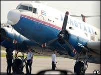 A Cuban passenger plane hijacked in March
