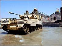 Queen's Dragoon Guards, Scimitar tanks