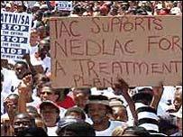 Aids protest (Archive photo)